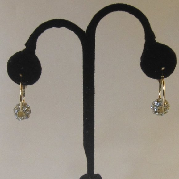 Paparazzi Diamond CZ Dangle Earrings